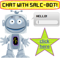 "Have a chat with our new helper ""SALC-bot"""